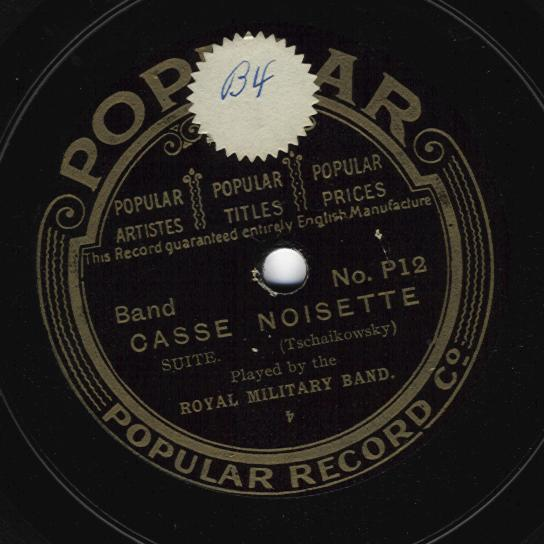 Old phonograph records, 1901-1923